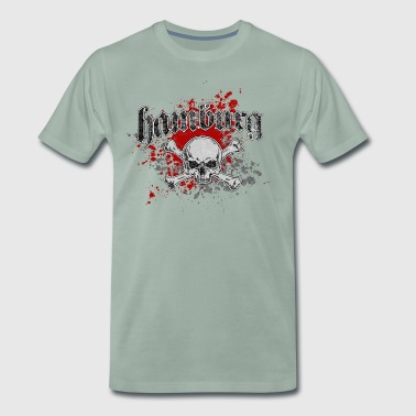 Jolly Roger Hambourg - T-shirt Premium Homme
