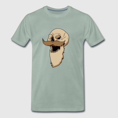 Bart skull - Men's Premium T-Shirt