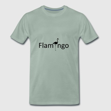 Idea de regalo de Flamingo Animals Zoo - Camiseta premium hombre