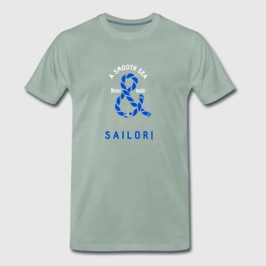 Sailor Skipper Captain Sea Regatta Anchorage - Men's Premium T-Shirt