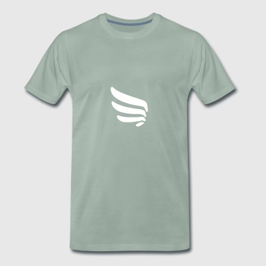 Left wing with 4 springs - Men's Premium T-Shirt