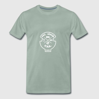 Grease Monkey Mechanics Tuning Turbo Gift - Mannen Premium T-shirt