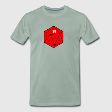 D20 cubes - Men's Premium T-Shirt