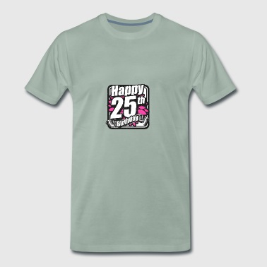 25 Birthday - Congratulations gift - Men's Premium T-Shirt