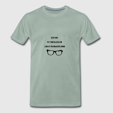 Hold Cool Glasses - Herre premium T-shirt