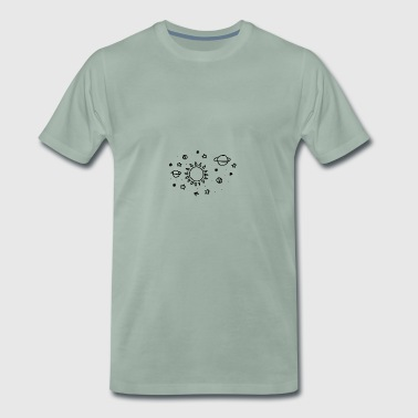 Space theme - Men's Premium T-Shirt