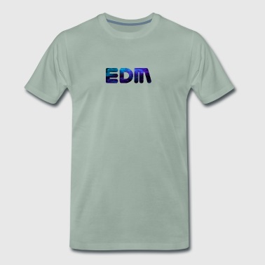 EDM, electronic music darkblue - Men's Premium T-Shirt