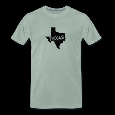 Texas Motto and Vintage Nickname - Men's Premium T-Shirt