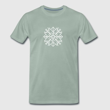 Viking Rune Protection - Premium T-skjorte for menn