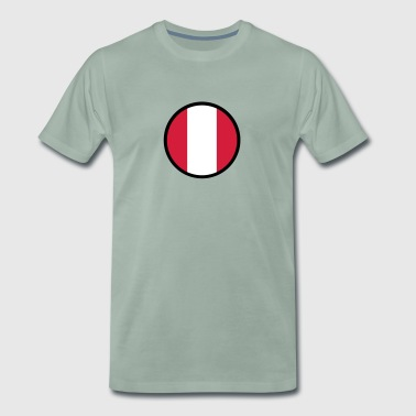 Under The Sign Of Peru - Men's Premium T-Shirt