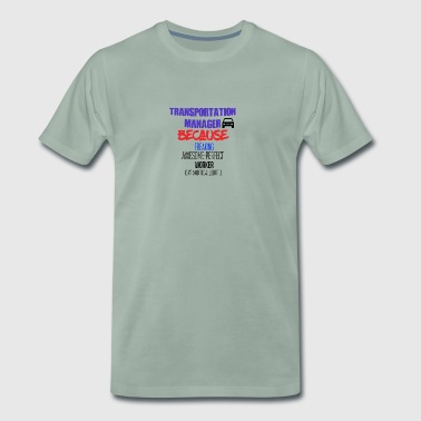 Transport manager - Herre premium T-shirt