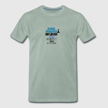 Range manager - Men's Premium T-Shirt