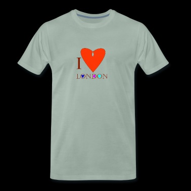 I Love London A - T-shirt Premium Homme
