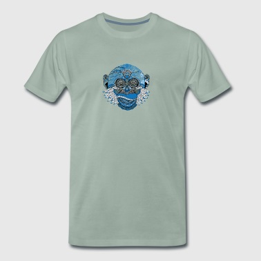 Spiritual monkey - Men's Premium T-Shirt