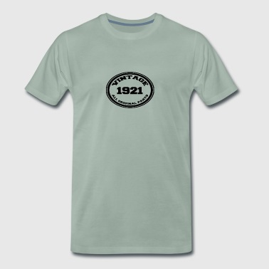 Year of birth 1921 - Men's Premium T-Shirt