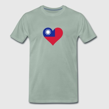 A Heart For Taiwan - Men's Premium T-Shirt