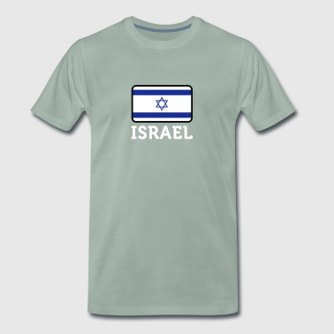 Israels nationale flag - Herre premium T-shirt