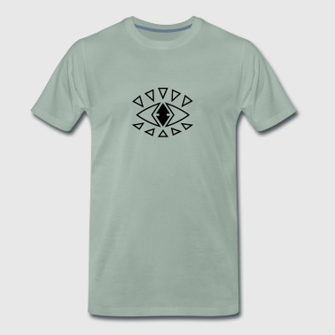 Graphic Eye - Premium T-skjorte for menn