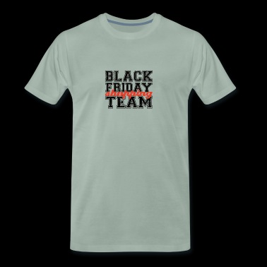 Thanksgiving / Erntedankfest: Black Friday Shoppin - Men's Premium T-Shirt