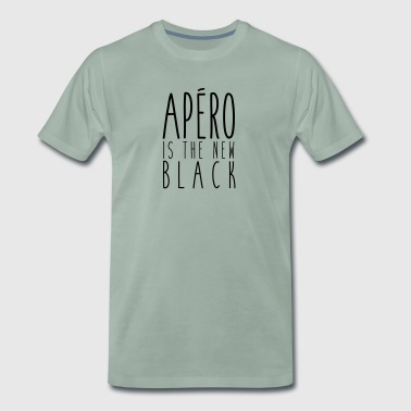 Aperitif is the new black - Men's Premium T-Shirt