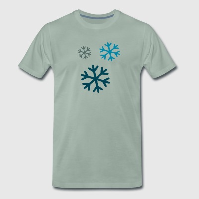 snow - Men's Premium T-Shirt