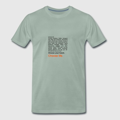Trainspotting - Herre premium T-shirt