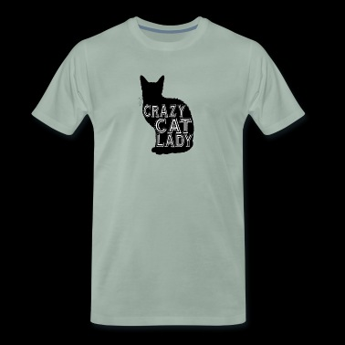 cat Crazy cat lady - Men's Premium T-Shirt