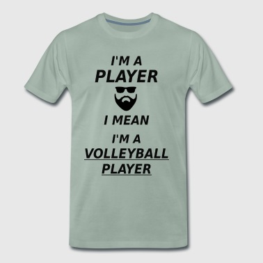 Volleyball volleyballer volleyball player gift - Men's Premium T-Shirt