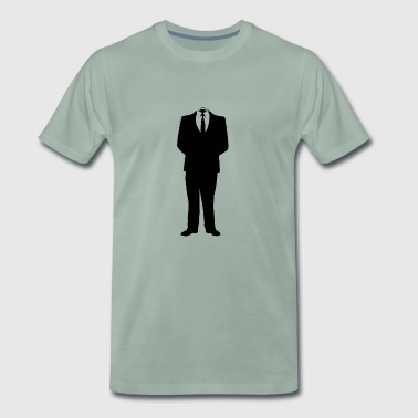 suit - Men's Premium T-Shirt