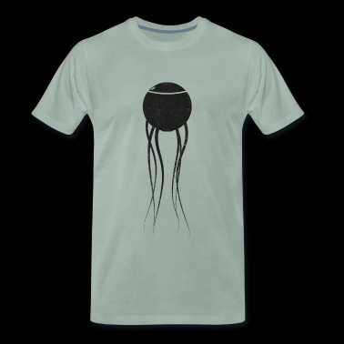 Sci-Fi Spore Black - Men's Premium T-Shirt