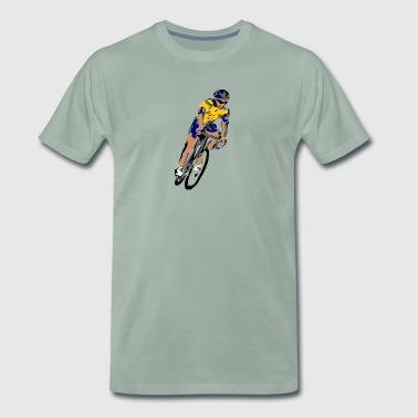 Cyclist - Men's Premium T-Shirt