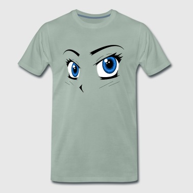 Manga Eyes - Men's Premium T-Shirt