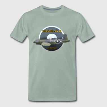 Corsair Mk.II, PS. Cole - Herre premium T-shirt