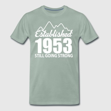 Established 1953 and still going strong - Men's Premium T-Shirt