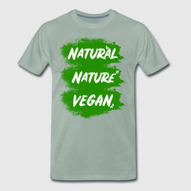 Vegan Of course - Men's Premium T-Shirt