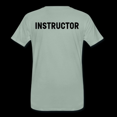 instructeur - Mannen Premium T-shirt