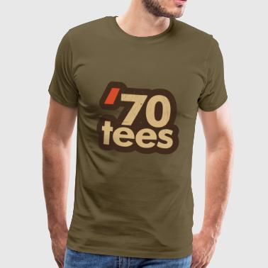 70ths logo batch july 18 - Men's Premium T-Shirt