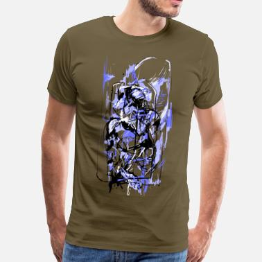 Ronin Abstract warrior - Men's Premium T-Shirt