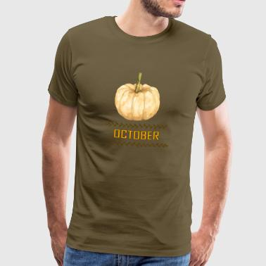 Autumn Colours october - Men's Premium T-Shirt