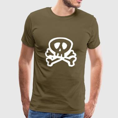 Pirate pirate skull pirate - Men's Premium T-Shirt