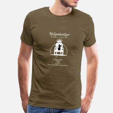 Cat Owner Cat owners - Men's Premium T-Shirt