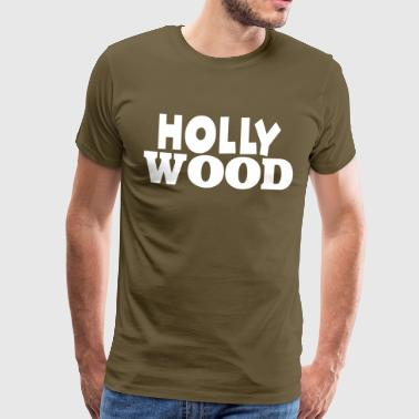 Hollywood Hollywood - Herre premium T-shirt