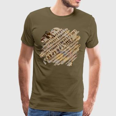 Runic alphabet - Men's Premium T-Shirt