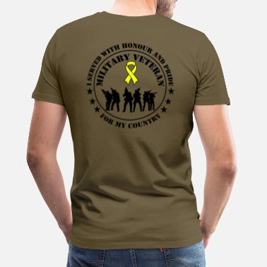 Veteran German Military Veteran - Männer Premium T-Shirt