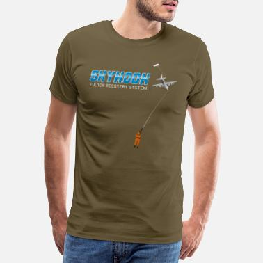 Skyhook Fulton Surface-to-Air Recovery System - Premium T-shirt herr