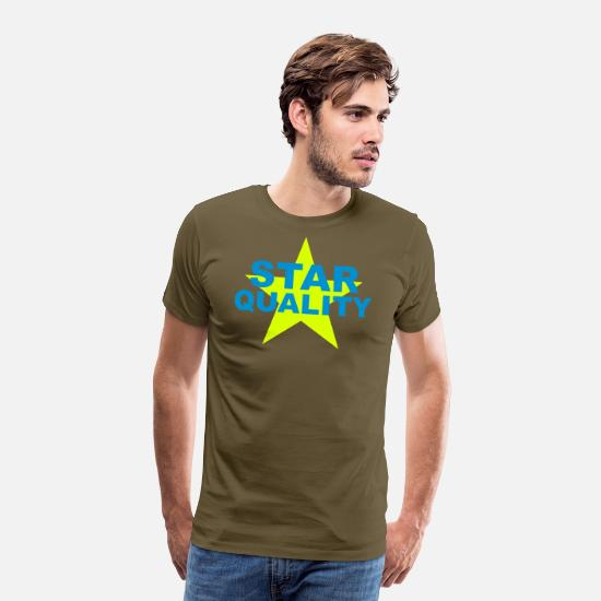 Hollywood T-Shirts - star quality - Männer Premium T-Shirt Khaki