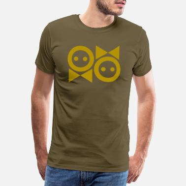 Female Sex Symbol Male Female Symbol Modern Gold - Men's Premium T-Shirt