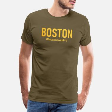 Stars And Stripes Boston - Massachusetts - USA - USA - Eas - Premium T-skjorte for menn