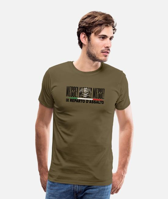 Mood T-Shirts - XI Assault Department - Men's Premium T-Shirt khaki