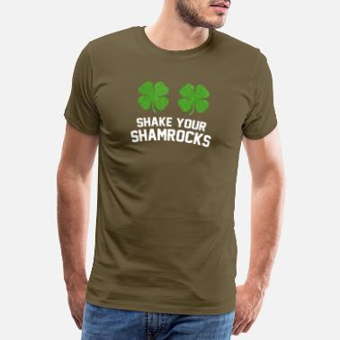 Patty ryst dine shamrocks - Herre premium T-shirt